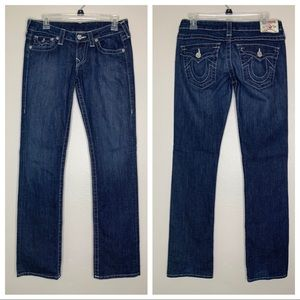 True Religion Dark Boot Cut Jeans 27